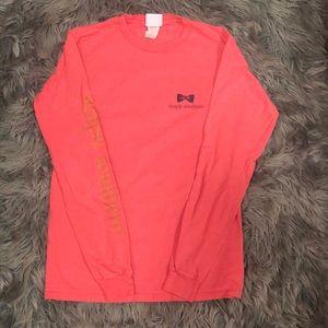 Simply Southern Pink Long Sleeve Shirt